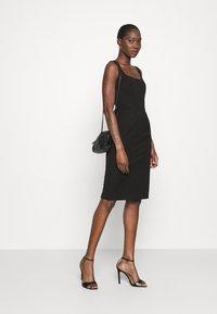 Banana Republic - NECK SHEATH SOLID - Day dress - black - 1