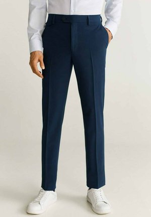 TRAVEL - Trousers - tintenblau