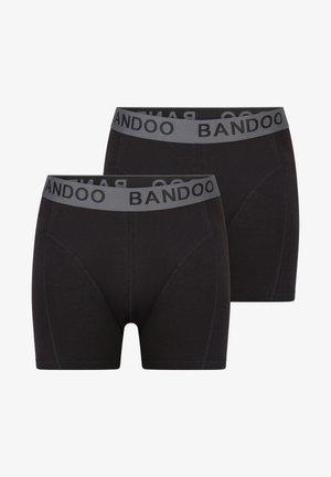 2PACK - Pants - black,black