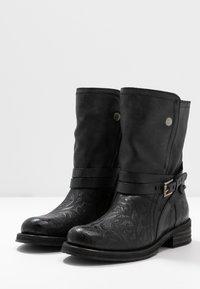 Felmini - COOPER - Cowboy/Biker boots - black - 4