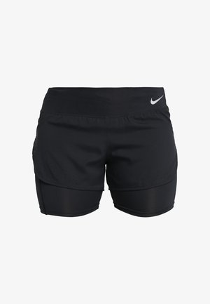 ECLIPSE 2 IN 1 - Short de sport - black