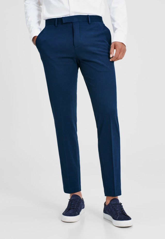 Suit trousers - blue / dark navy
