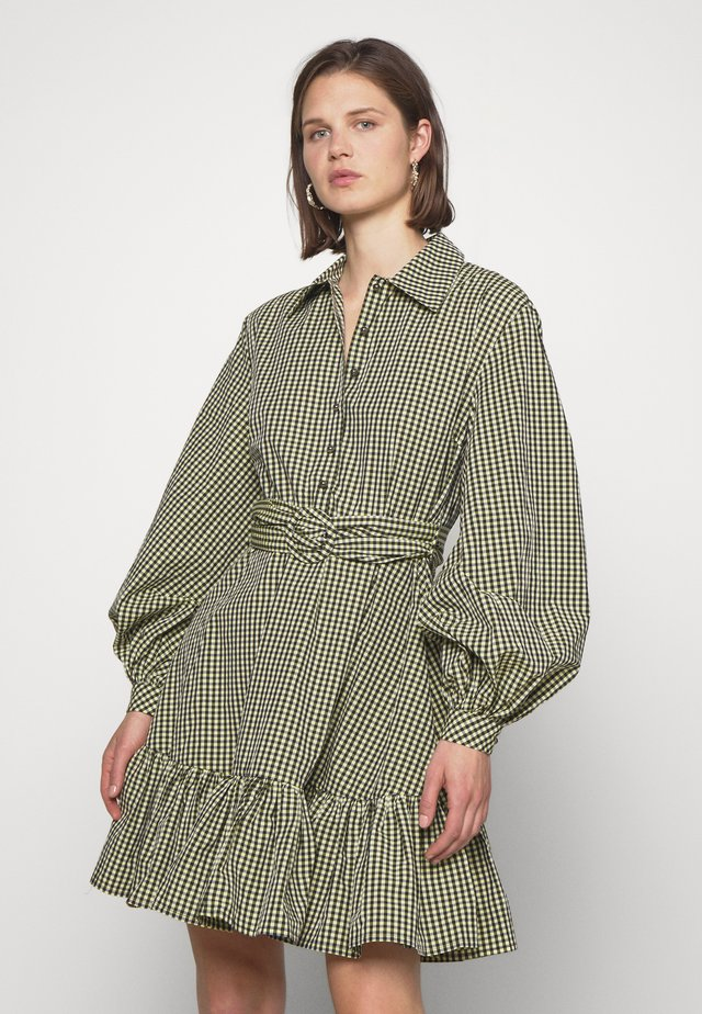 TEX DRESS - Shirt dress - sulphur spring