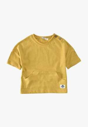 T-shirt basique - mustard yellow