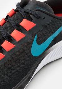 Nike Performance - AIR ZOOM PEGASUS 37 - Zapatillas de running neutras - off noir/light blue fury/bright crimson - 5