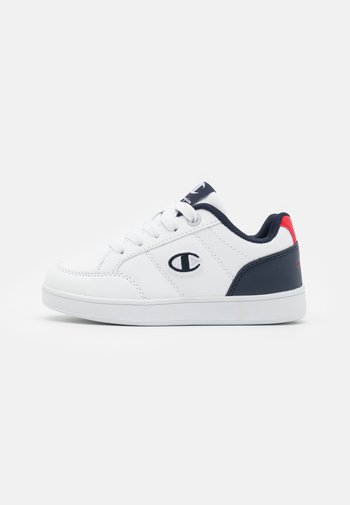LOW CUT SHOE CAMPO UNISEX - Sports shoes - white/navy/red