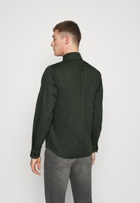 Solid - SDLOKE OVERSHIRT - Korte jassen - forest night - 2