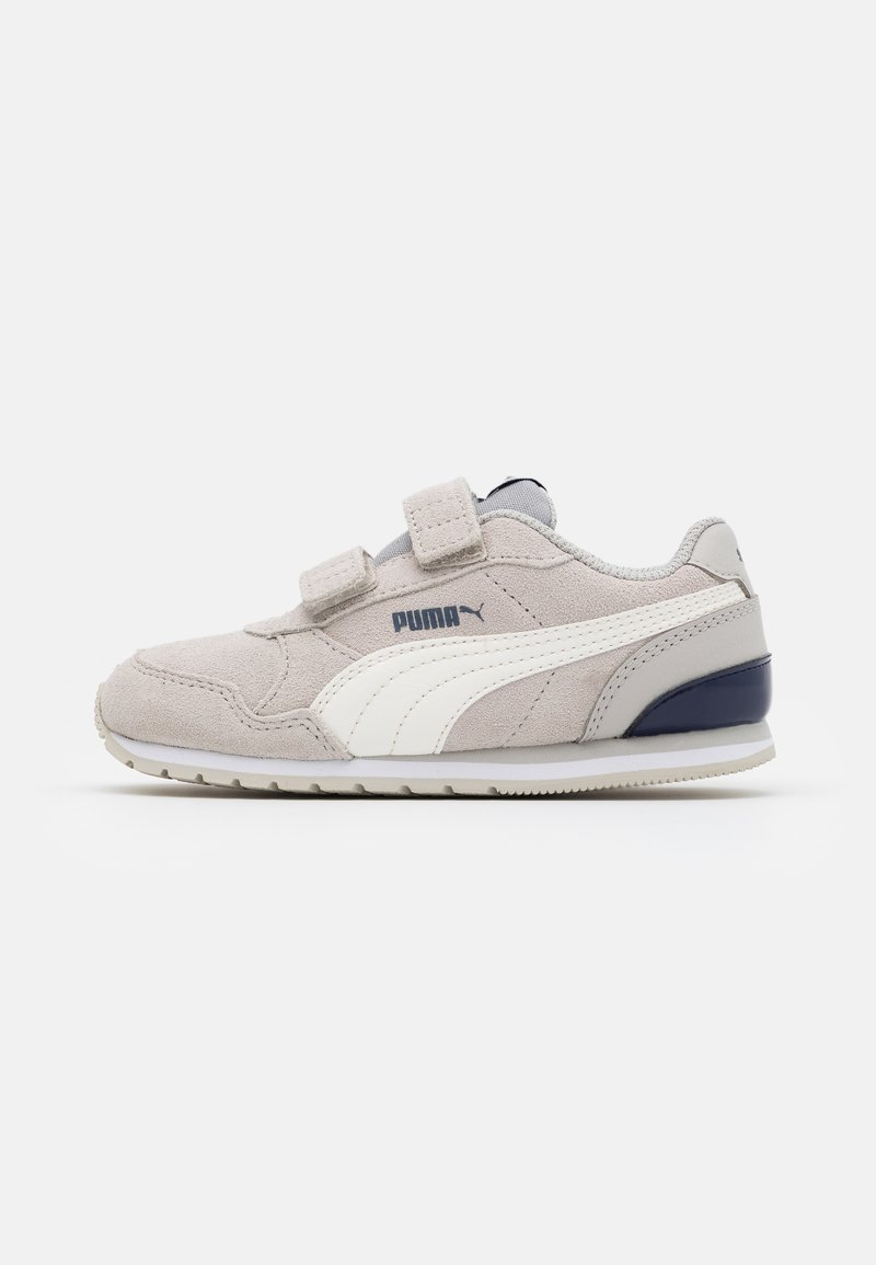 Puma - ST RUNNER V2 SD - Trainers - gray violet/whisper white/black/white