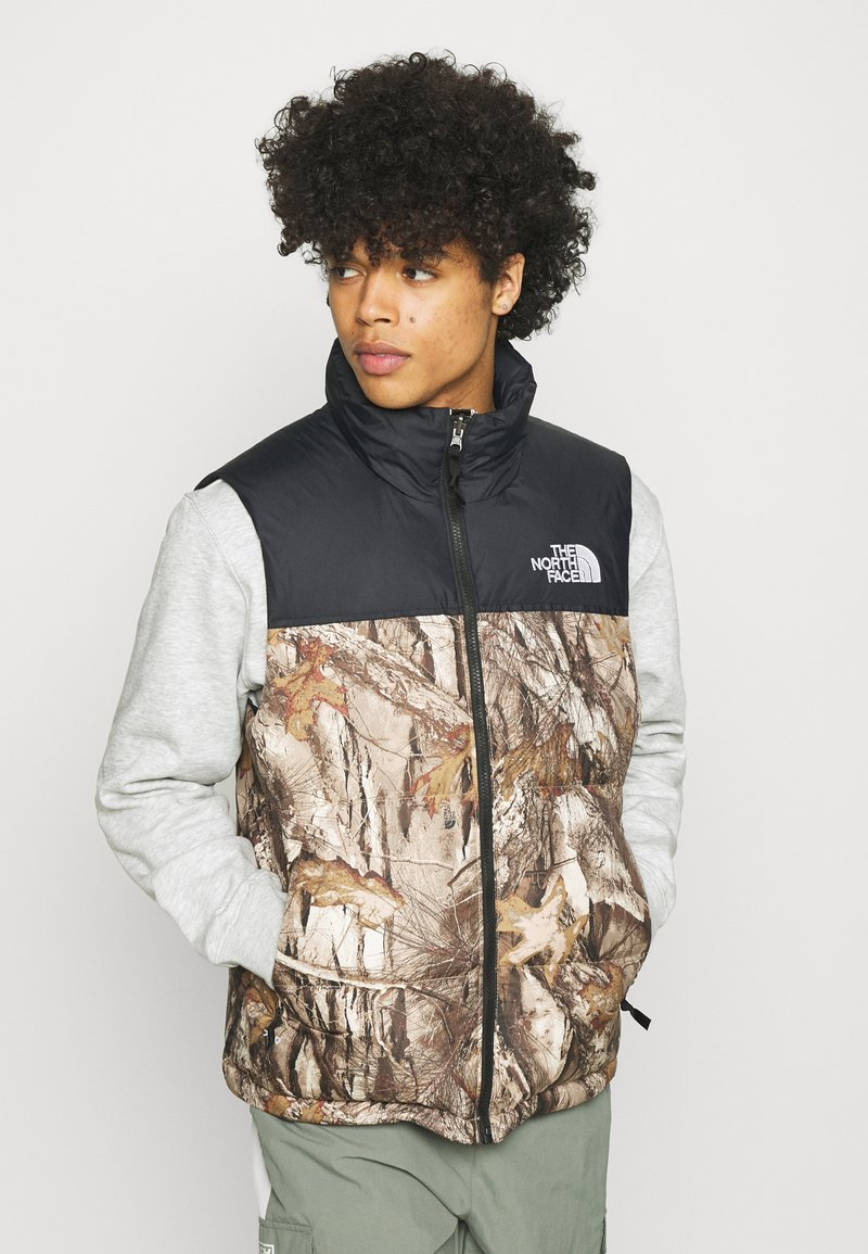 The North Face - 1996 RETRO NUPTSE VEST UNISEX - Waistcoat - kelp tan