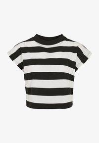 Urban Classics - STRIPE - T-shirt print - black/white - 5