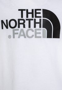 The North Face - YOUTH EASY TEE - Print T-shirt - white/black - 2