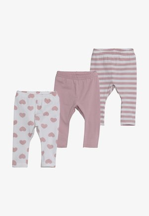 NBFLEGGING 3 PACK - Leggings - Trousers - pink nectar