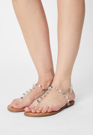 GENERATE - T-bar sandals - clear