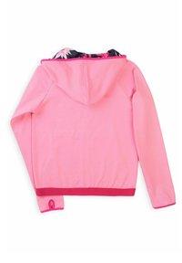 MINOTI - Zip-up sweatshirt - pink - 2