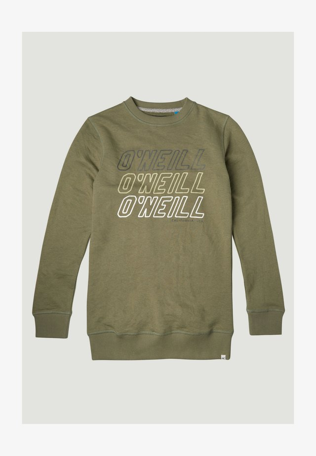 Sweater - olive leaves