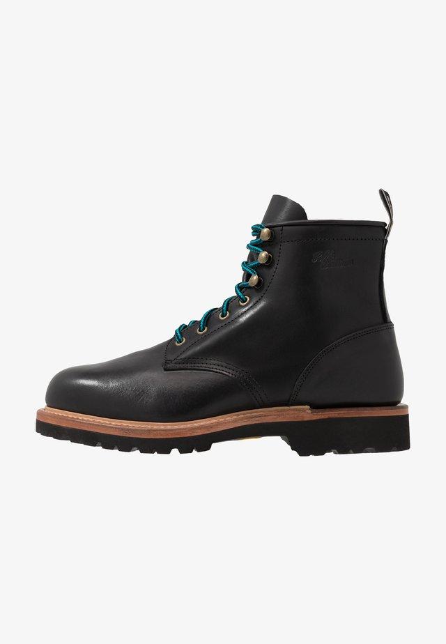 KINGSCOTE - Lace-up ankle boots - ebony