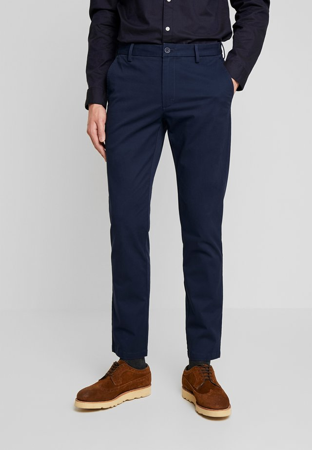 SALTWATER - Chino - navy blazer