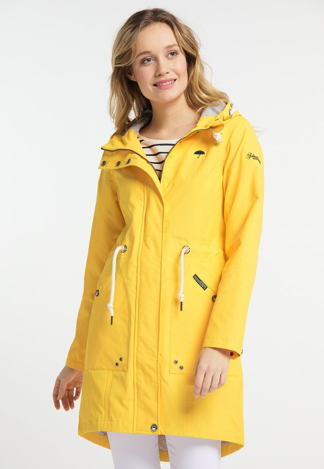 Parka - yellow mixture