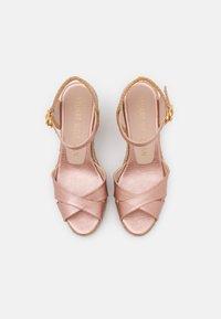 Stuart Weitzman - MIRELA - Korkeakorkoiset sandaalit - rose gold - 4