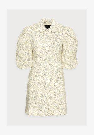 AMI DRESS - Sukienka koszulowa - yellow liberty