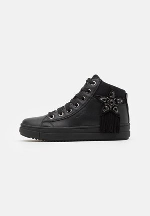 REBECCA GIRL - Sneakersy wysokie - black