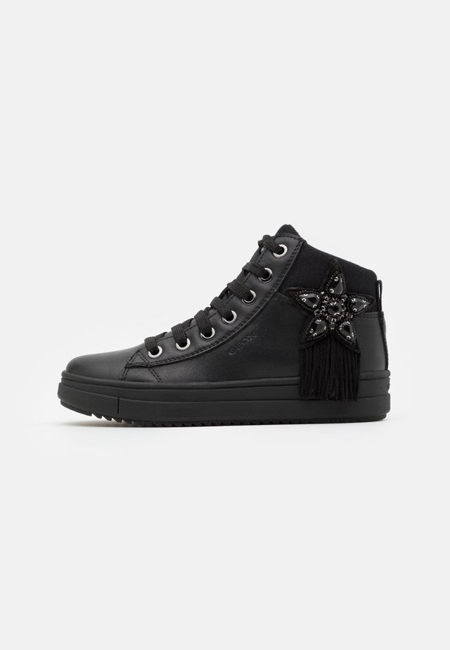 REBECCA GIRL - Sneakers alte - black