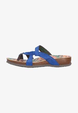 Sandály s odděleným palcem - blau