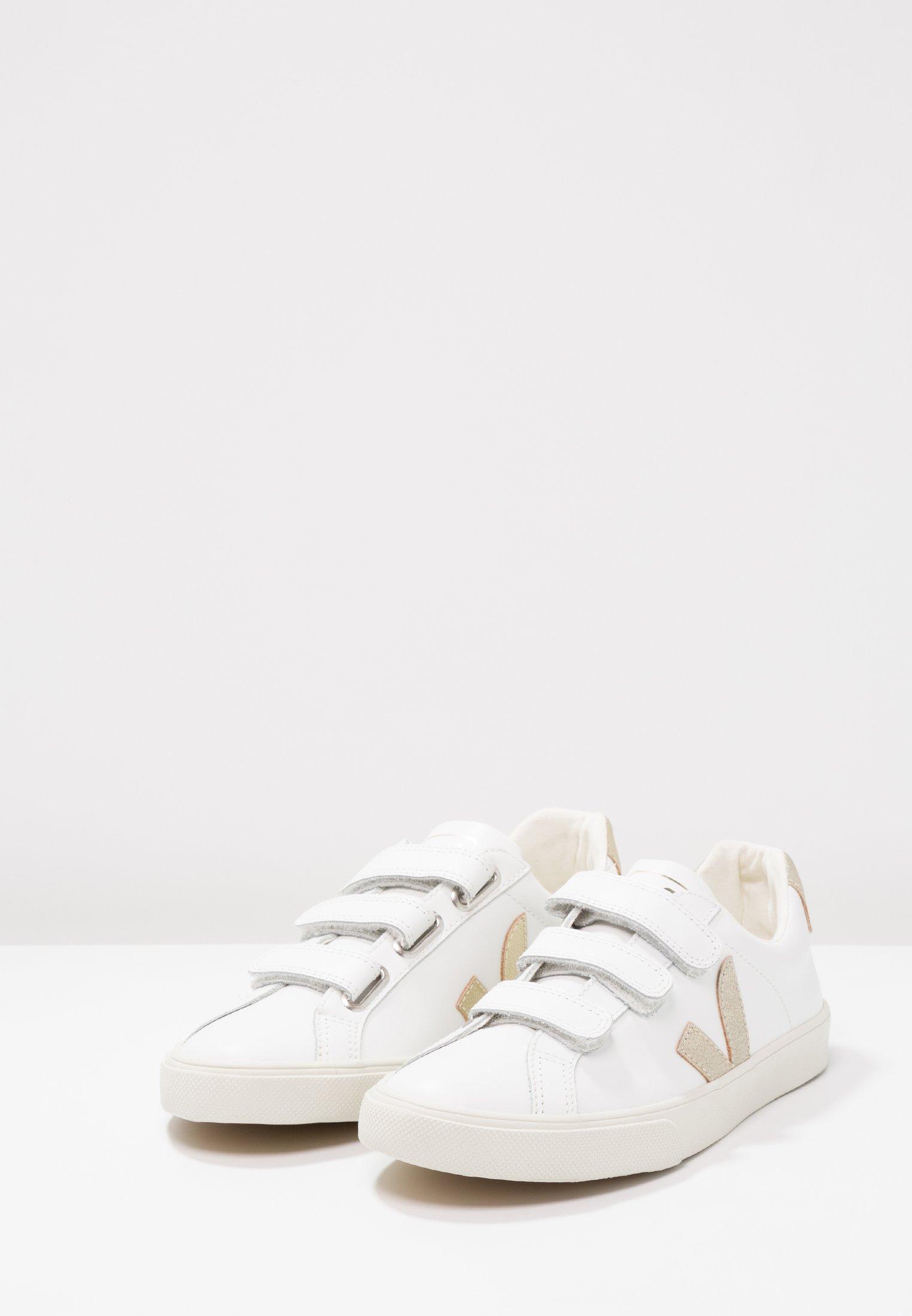 3 LOCK Sneaker low extra whitegold