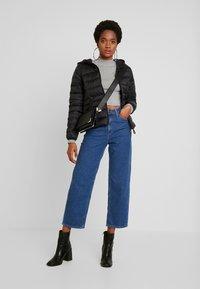 Vero Moda - SHORT HOODY - Winter jacket - black - 1