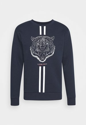 FURY CREWNECK - Sweater - navy