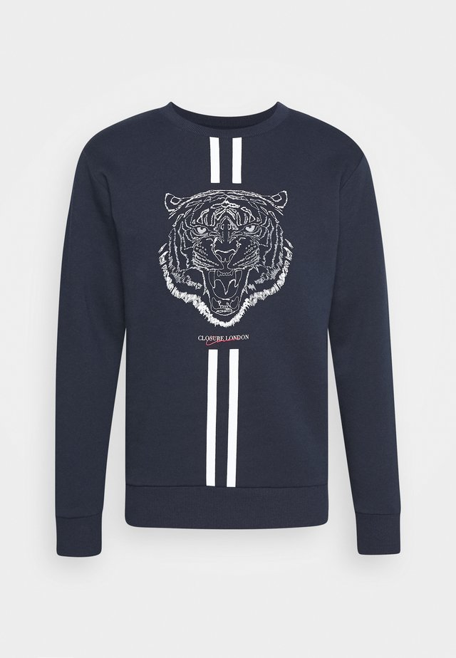 FURY CREWNECK - Sweatshirt - navy