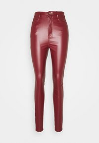 Missguided Tall - TROUSER - Bukse - wine - 0