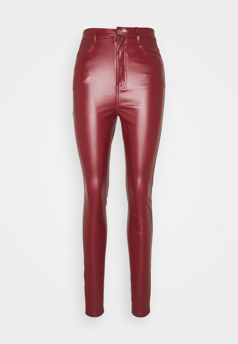 Missguided Tall - TROUSER - Bukse - wine