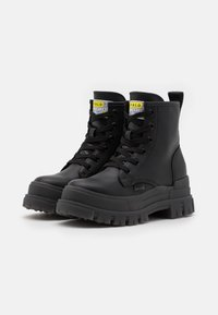 Buffalo - VEGAN ASPHA - Platform ankle boots - black - 1