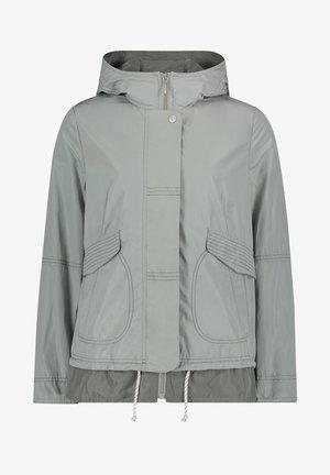 MIT KAPUZE - Waterproof jacket - quarry