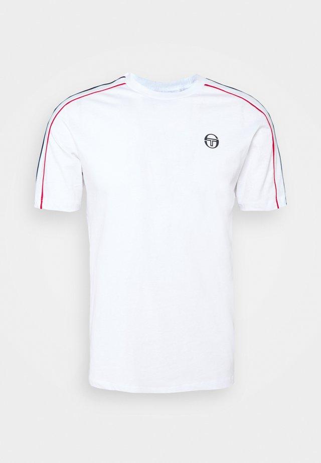 AMARILLIS  - T-shirt print - blanc de blanc