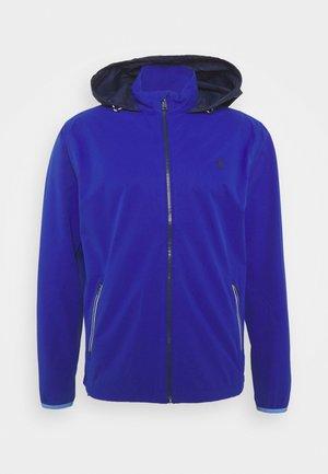HOOD ANORAK JACKET - Vodotěsná bunda - royal blue