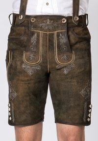 Stockerpoint - BEPPO - Shorts - brown/light brown - 7