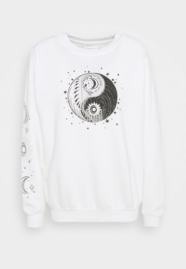MYSTICAL MOON  - Sweatshirt - ecru