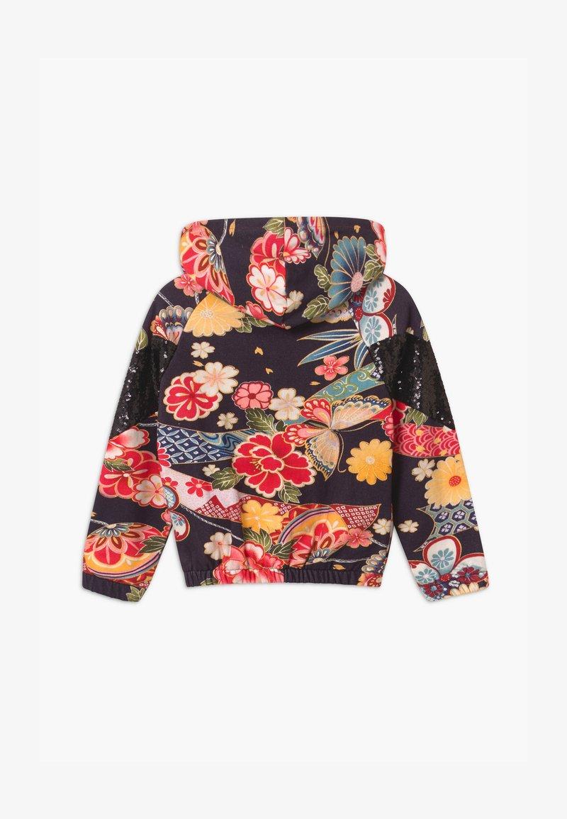 Desigual - DELAWARE - Zip-up hoodie - black