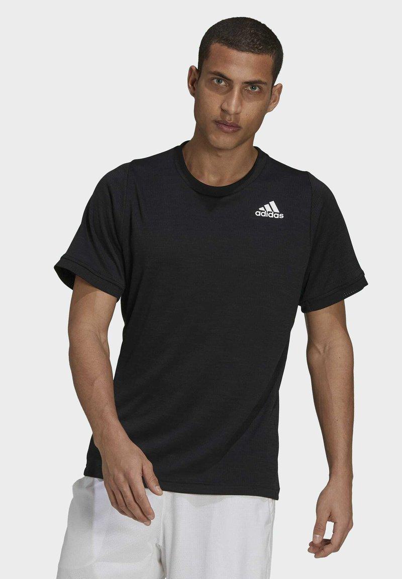 adidas Performance - FREELIFT TEE - Funkční triko - black/white