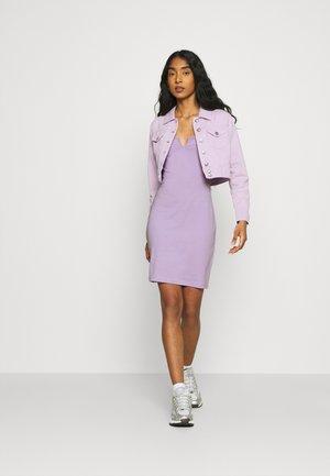 2 PACK - Vestido ligero - black/lilac