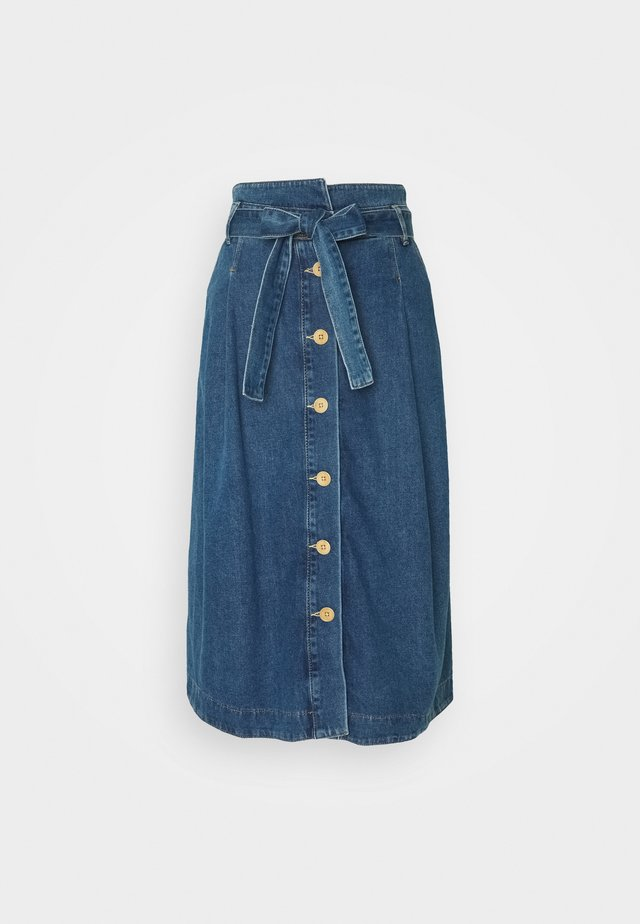 MIDWEIGHT - Jeansnederdel/ cowboy nederdele - denim blue