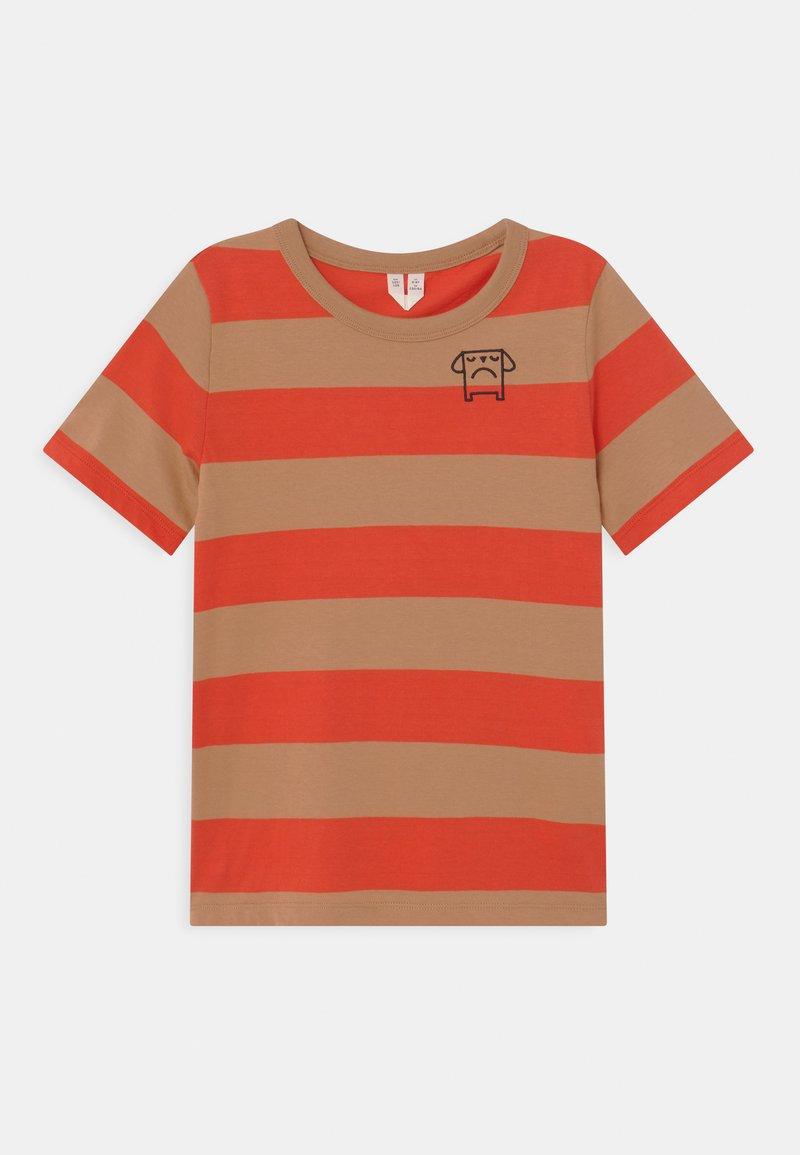 ARKET - Print T-shirt - red