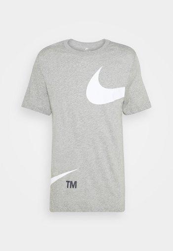 TEE - T-shirt med print - grey heather