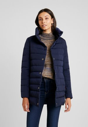 FUNCTIONAL FILLED  - Short coat - midnight blue