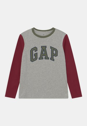 LOGO - Langærmede T-shirts - light heather grey