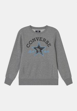 UTILITY CREW - Sweatshirt - dark grey heather