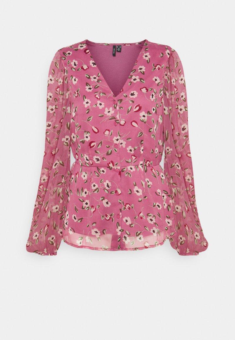Vero Moda Tall - VMKAY V NECK - Camicetta - hawthorn rose