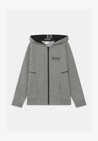 BOSS Kidswear - ZIP - veste en sweat zippée - grey marl - 0